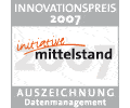 Innovation award for ANTEROS in the category Datamanagement.